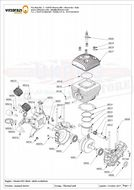 MP003 Engine carter support black, with oil seal ( Qty Req 1)